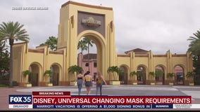 Disney, Universal changing mask requirements