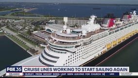 Cruise lines prepare for sailing