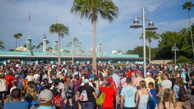 PHOTOS: Crowds visit Disney's Hollywood Studios on holiday weekend