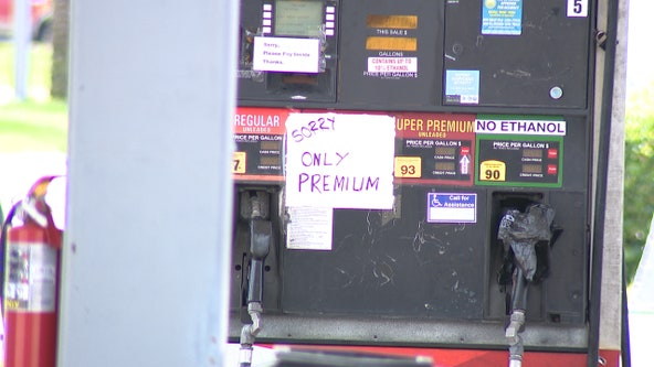 Some Central Florida gas stations run out of gas amid rush