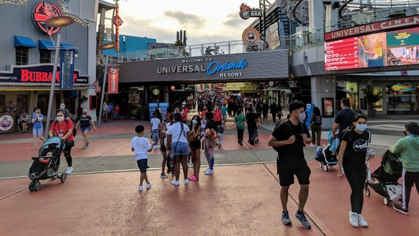 Masks no longer required in most outdoor areas at Disney, Universal