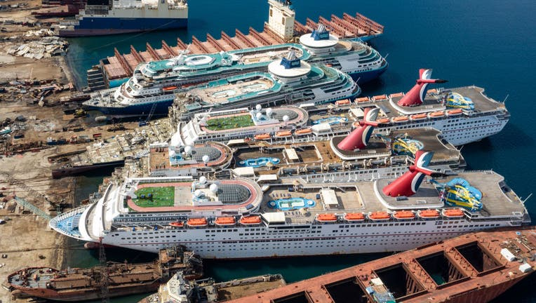 4eda3eda-Cruise Ships Sold For Scrap Due To Coronavirus Pandemic