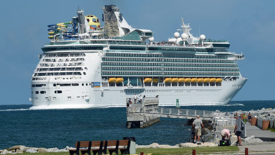 Royal Caribbean's Mariner of the Seas departs from Port