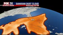 It's here! Saharan dust moving into Florida