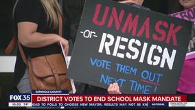 Seminole County drops mask mandate in schools