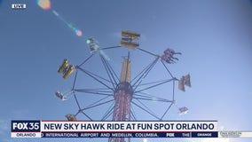 New Sky Hawk ride at Fun Spot Orlando