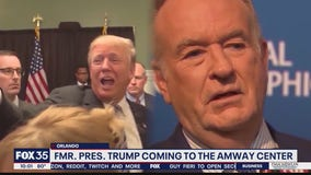 Former President Donald Trump, Bill O'Reilly coming to Orlando's Amway Center