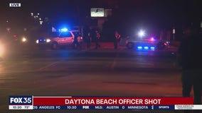 Daytona Beach police officer injured in shooting