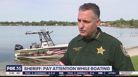 Sheriff urges boating safety ahead of Fourth of July