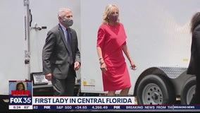 First Lade Jill Biden visits Central Florida