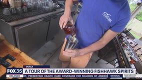Tour of the award-winning Fishhawk Spirits