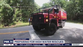 Seminole Counting practicing flood rescue techniques for hurricane season