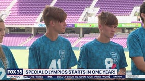 Special Olympics one year away in Orlando