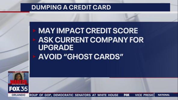 Credible.com: Dumping a credit card