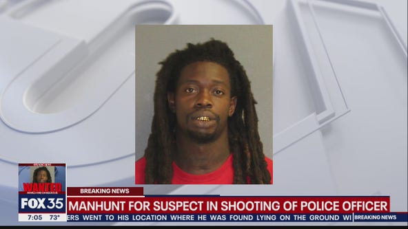 Nationwide manhunt for suspect in shooting of Daytona Beach police officer
