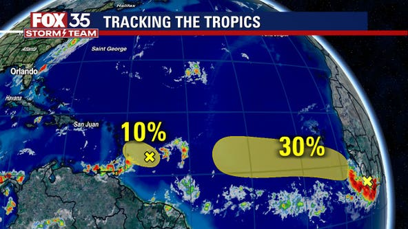 Tropical wave shows potential for development, forecasters say
