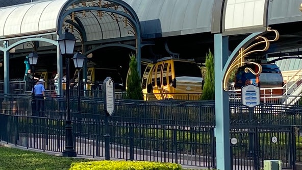 PHOTOS: Skyliner gondolas crash at Disney World for 2nd time this year: witness
