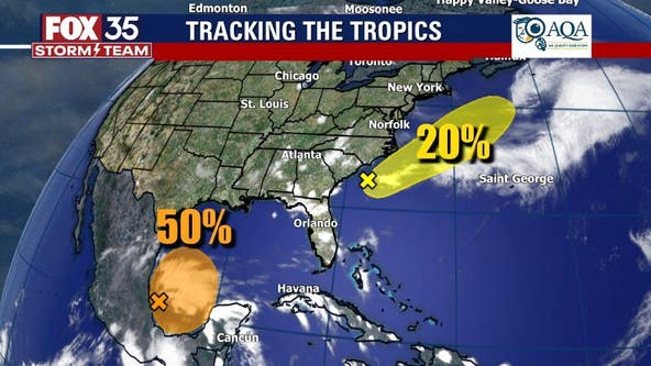 2nd system being monitored for development, forecasters say