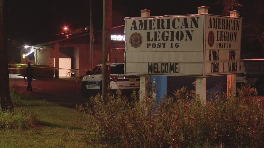 Police: 5 juveniles shot during party at American Legion in Gainesville