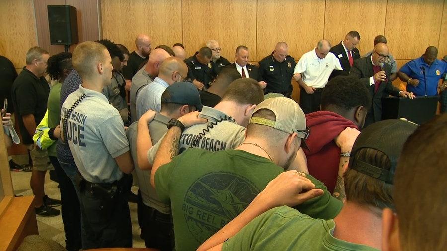 Community rallies around Daytona Beach officer shot in the line of duty