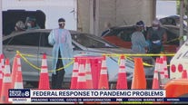 Federal response to rise in COVID-10 cases