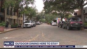 Orlando expands curbside dining