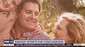 Teacher whose husband died of traumatic brain injury warns others