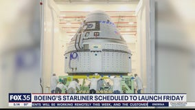 Boeing's Starliner scheduled to launch Friday