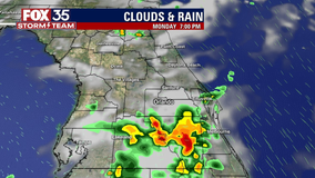 FOX 35 Storm Alert Day: Timeline of storms across Florida, potential threat late afternoon into evening