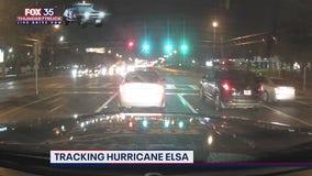FOX 35 Storm Team Thunder Truck tracking Elsa