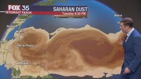 Tracking the Tropics: Saharan dust keeping tropics quiet