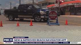 Volusia County redesigns beach access app