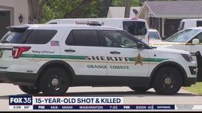 Ocoee teen fatally shot outside home