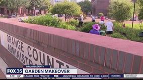 Garden in downtown Orlando receives much-needed makeover