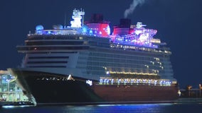 Disney Dream returns to Port Canaveral after first test cruise