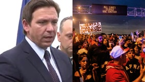 'It's dangerous': DeSantis tells protesters to stop shutting down roads