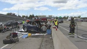Electric vehicles involved in crashes known to reignite, firefighters say