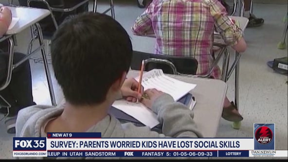Survey: Parents worried kids have lost their social skills