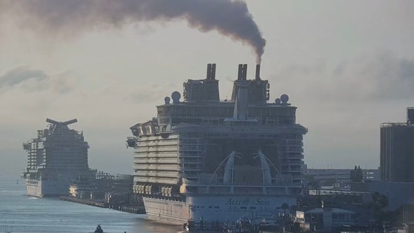 Royal Caribbean's 'Allure of the Seas' returns to Port Canaveral after test cruise