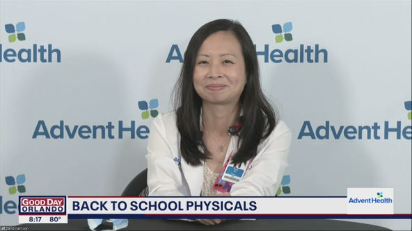 AdventHealth House Calls: Back-to-school physicals