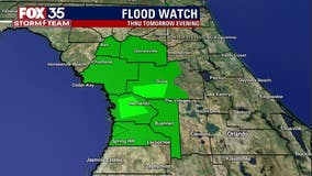 Flood watches, warnings in effect for several counties as wet weather continues