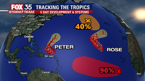 Tropics remain active as forecasters track 4 systems in the Atlantic