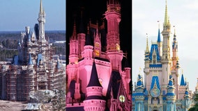 Disney World History: Cinderella Castle over the last 50 years