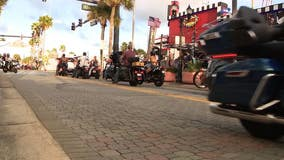 Biketoberfest officially underway in Daytona Beach without COVID restrictions