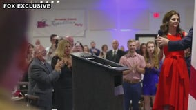 Florida First Lady Casey DeSantis makes 1st public appearance since breast cancer diagnosis