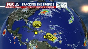 Track the Tropics: Hurricane forecasters monitor 2 tropical waves