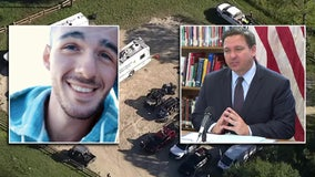 Brian Laundrie manhunt: Gov. Ron DeSantis wants fugitive 'brought to justice' if found guilty