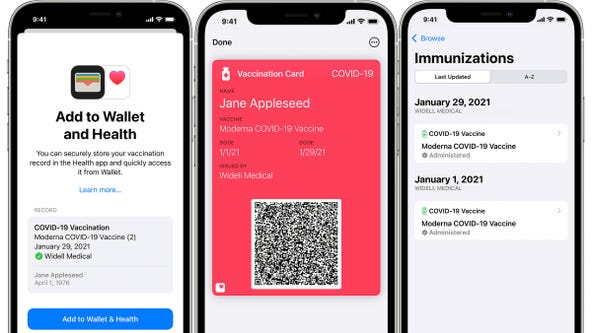 Apple Wallet now lets users add COVID-19 vaccine card: How to set it up